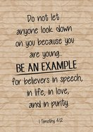 Poster Large: Be An Example Poster