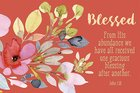 Poster Small: Blessed - John 1:16 Poster