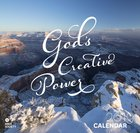 2019 Wall Calendar: God's Creative Power