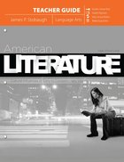American Literature: Cultural Influences of Early to Contempoary Voices (Teacher) Paperback