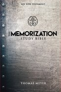 KJV the Memorization Study Bible Paperback