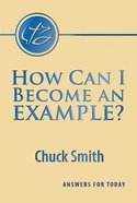 How Can I Become An Example? Booklet