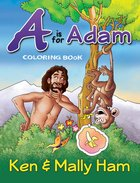 A is For Adam Coloring Book Paperback