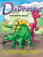 Is For Dinosaur Coloring Book Paperback