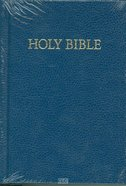 KJV Royal Ruby Holy Bible Compact Edition Blue (Black Letter Edition) Hardback