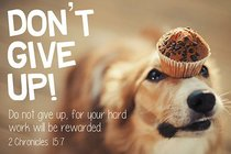 Poster Small: Dont Give Up!