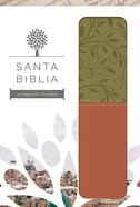 Rvr 1960 Santa Biblia Letra Grande Verde Y Marron Con Caja De Regalo (Red Letter Edition) (The Holy Bible Rvr 1960 - Large Print) Paperback