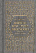 The One Year Book of Best-Loved Bible Verses Devotional Hardback