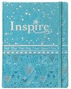 NLT Inspire Bible For Girls Metallic Blue
