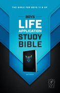 NLT Boys Life Application Study Bible (Black Letter Edition) Paperback