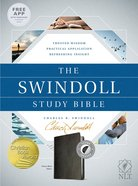 NLT Swindoll Study Bible Indexed Imitation Leather