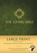 Lbp Living Bible Large Print Indexed Green (Red Letter Edition) Hardback