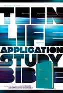 NLT Teen Life Application Study Bible Teal (Black Letter Edition) Imitation Leather