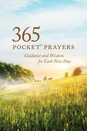 365 Pocket Prayers Paperback