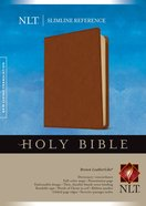 NLT Slimline Reference Bible (Red Letter Edition) Imitation Leather