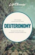 Deuteronomy (Lifechange Study Series) Paperback