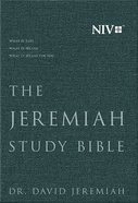 NIV Jeremiah Study Bible Charcoal Gray Fabric Over Hardback