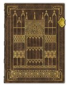 Leather Journal: Cambron Abbey, Foil and Burnished Design