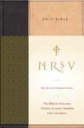 NRSV Standard Bible (Tan/black)