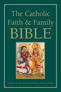NRSV Catholic Faith and Family Bible Paperback