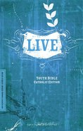 NRSV Live Youth Bible Catholic Edition Paperback