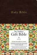 NRSV Catholic Gift Bible Black Anglicized Imitation Leather