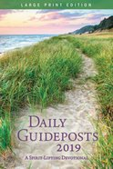 Daily Guideposts 2019: A Spirit-Lifting Devotional (Large Print) Paperback
