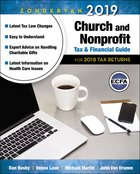 Zondervan 2018 Church and Nonprofit Tax and Financial Guide: For 2017 Tax Returns Paperback