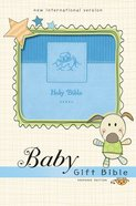 NIV Baby Gift Bible Blue (Red Letter Edition) Premium Imitation Leather