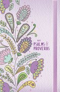 NIV Psalms and Proverbs Purple With Elastic Band Hardback