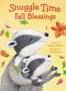 Snuggle Time Fall Blessings Padded Board Book