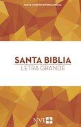 Nvi Santa Biblia Letra Grande Hardback
