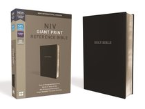 NIV Reference Bible Giant Print Black (Red Letter Edition)