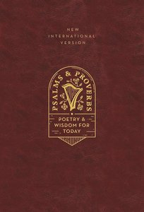 NIV Psalms and Proverbs Burgundy
