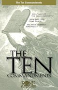 The Ten Commandments (Rose Guide Series) Pamphlet