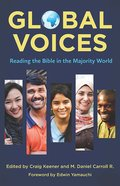 Global Voices: Reading the Bible in the Majority World eBook