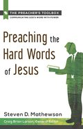 Preaching the Hard Words of Jesus eBook
