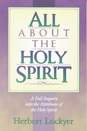 All About the Holy Spirit eBook