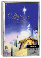 Christmas Boxed Cards: Love Came Down (John 3:16 Kjv) Box