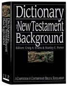 Dictionary of New Testament Background Hardback