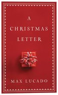 A Christmas Letter (Pack Of 25) Booklet
