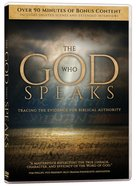 The God Who Speaks (2 Dvds)