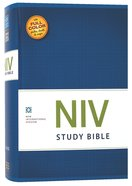 NIV Study Bible Regular (Red Letter Edition) Hardback