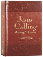 Jesus Calling Morning and Evening Devotional Hardback