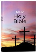 NKJV Value Outreach Bible Classic Calvary Paperback