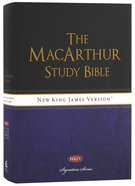 NKJV Macarthur Study Bible Signature Series (Black Letter Edition) Hardback