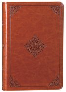 ESV Large Print Value Thinline Bible Tan Ornament (Black Letter Edition)