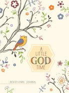 A Little God Time Devotional Journal (Rustic) Hardback