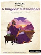 A Kingdom Established (Preschool Activity Pages) (#04 in The Gospel Project For Kids 2015-18 Series) Paperback