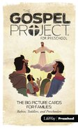 Jesus Saves, (Preschool Big Picture Cards For Families) (#09 in The Gospel Project For Kids Series)